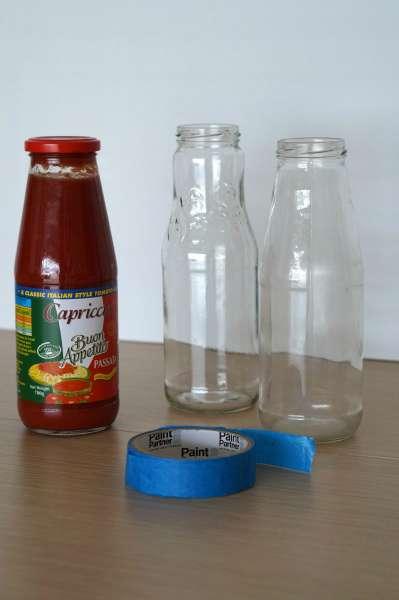tomato sauce bottles