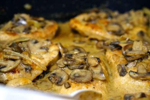 Creamy Mushroom Chicken (Gluten Free)