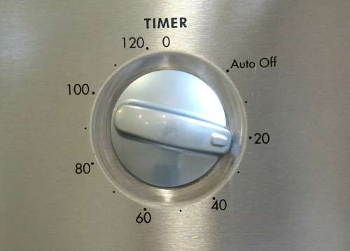 oven timer for baking cookies