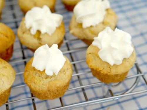 Banana and Cinnamon Mini Muffins - Gluten Fee Too