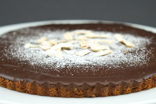 Gluten Free Chocolate and Coconut Tart