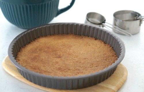 baked based for Gluten Free Chocolate Tart
