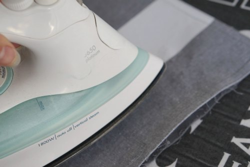 ironing placemat for DIY cushion