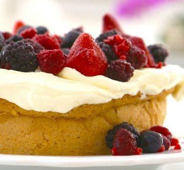 Gluten Free White Cake..easy and delicious!