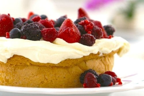 Gluten Free White Cake..easy and delicious!