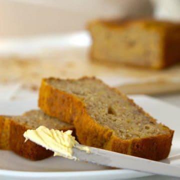 Really Easy Gluten Free Banana Bread