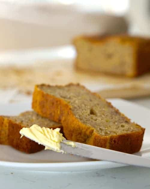 Really Easy Gluten Free Banana Bread