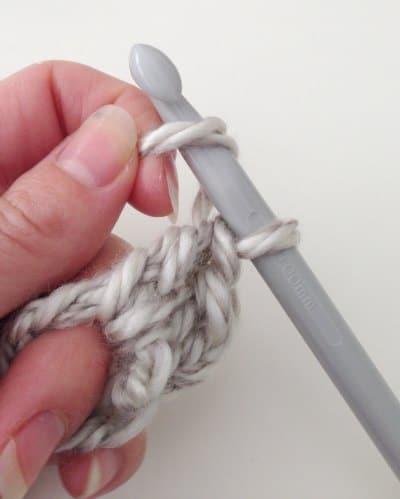 Step 2 Easy DIY Crochet Blanket