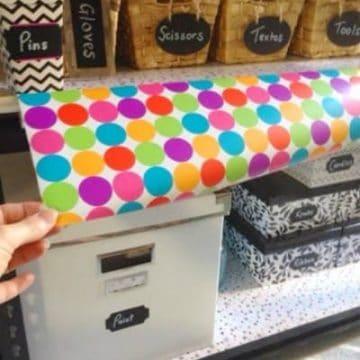 DIY Organised Craft Stand