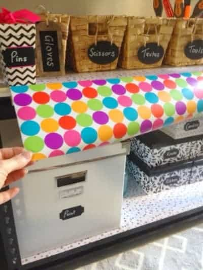 DIY Organised Craft Stand - Top 10 Craft and Recipe Ideas For 2015 from Sparkles In The Everyday!