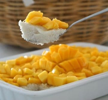 Easy Thai Sticky Rice with Mango...delicious!