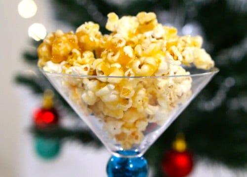 Gluten Free Salted Caramel Popcorn...delicious!!