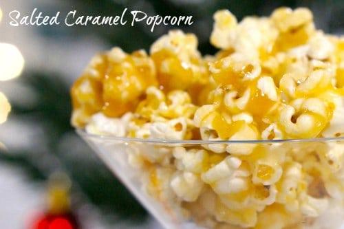 Gluten Free Salted Caramel Popcorn