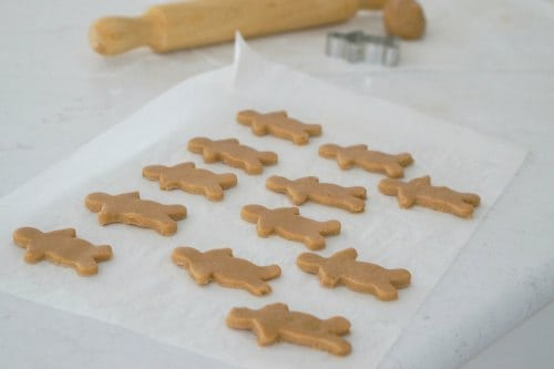 Ready to bake Gluten Free Gingerbread Men