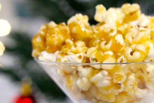 Salted Caramel Popcorn - Gluten Free