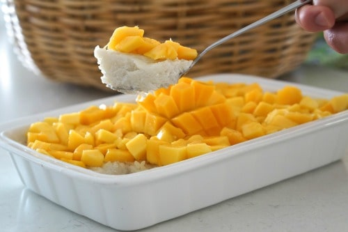 Thai Sticky Rice with Mango...delicious and easy!