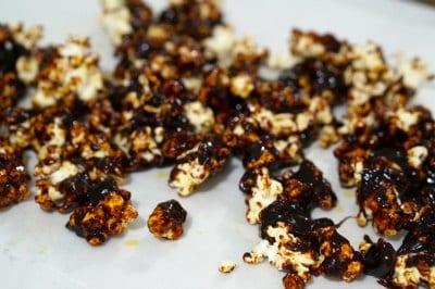 burnt caramel popcorn