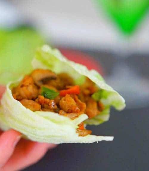 Gluten Free San Choy Bau recipe - ready to eat!