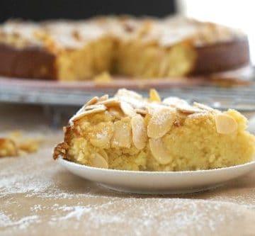 Gluten Free Lemon, Ricotta and Almond Cake