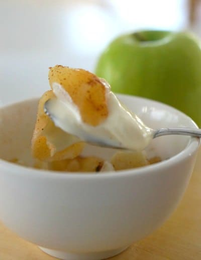 Gluten free snack ideas - Crustless Apple Pie