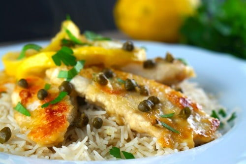 Gluten Free Lemon Chicken Piccata