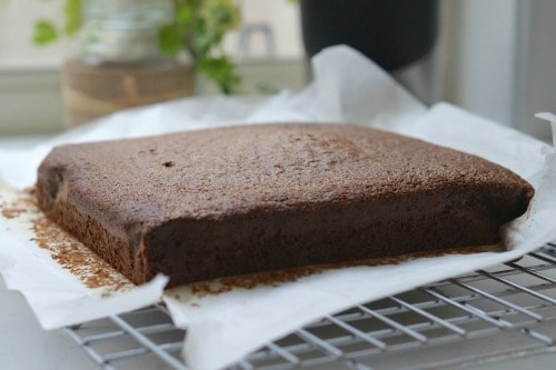 Cooling The Best Gluten Free Chocolate Cake