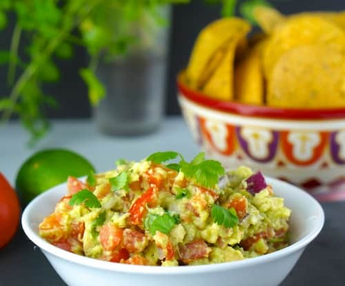 Delicious Gluten Free Homemade Guacamole with a twist!