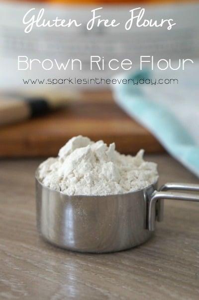 Gluten Free Flours - Brown Rice Flour