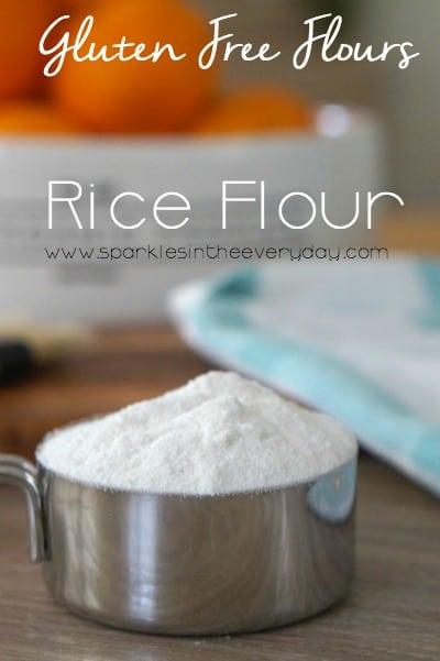 Gluten Free Flours - Rice Flour