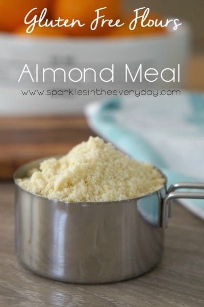 Gluten Free Flours - almond meal and almond flour