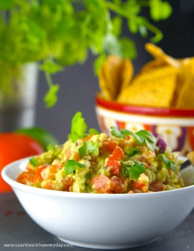 The Best Homemade Guacamole with a twist!