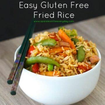 Easy Gluten Free Fried Rice