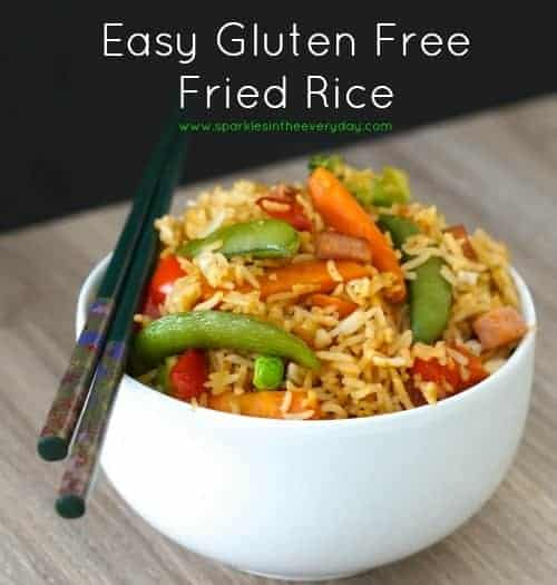 Easy Gluten Free Fried Rice