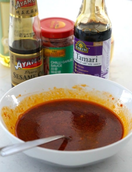 Easy sauce for Asian Shredded Chicken!