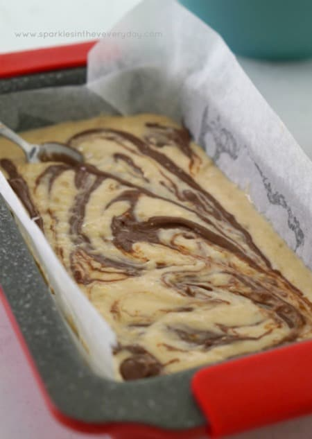 Chocolate Swirl - Gluten Free Chocolate Swirl Banana Cake