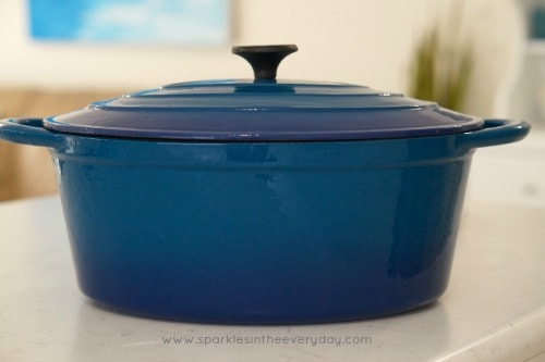 Dutch Oven or Cast Iron Pot for Creamy Sun-dried Tomato Chicken Casserole (GF)