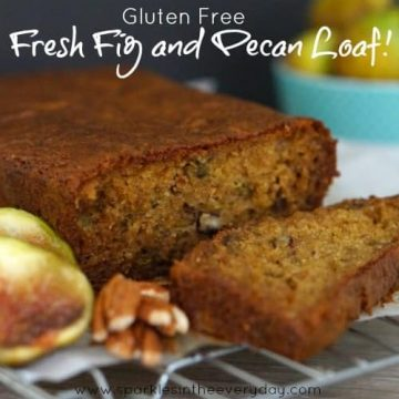 Fresh Fig and Pecan Loaf! (Gluten Free too!)