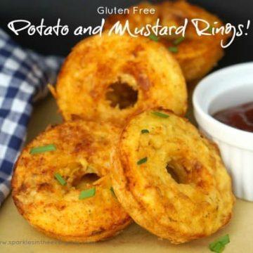 How to make Tasty Potato and Mustard Rings Recipe - Gluten Free!!