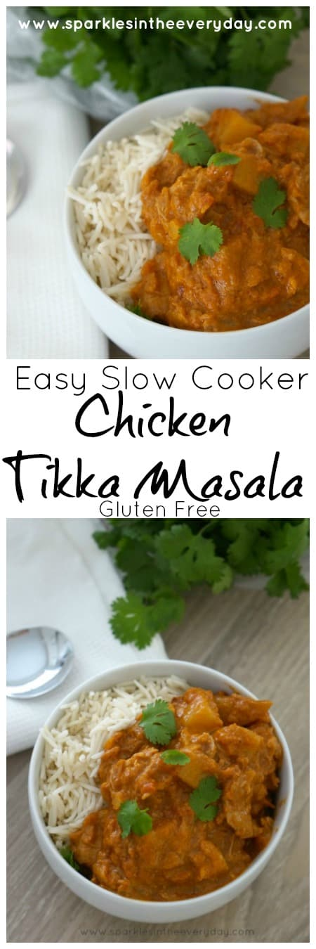 Easy Slow Cooker Chicken Tikka Masala recipe, the easy way!