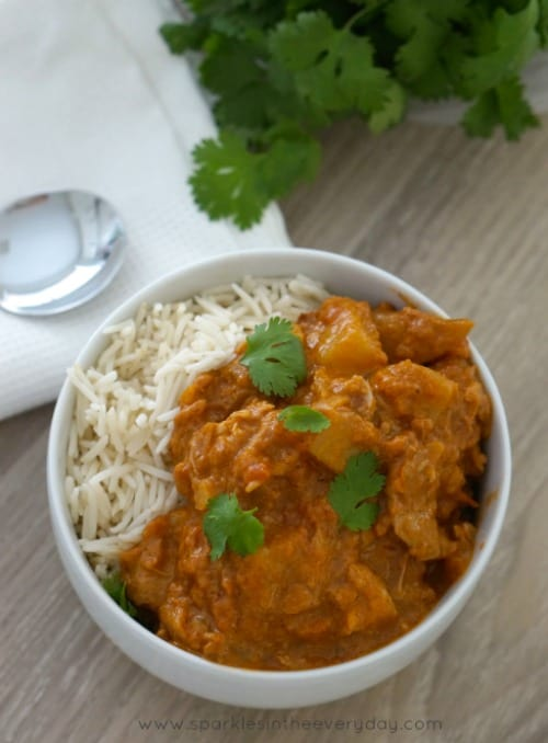 Gluten Free Slow Cooker Chicken Tikka Masala - the easy way!