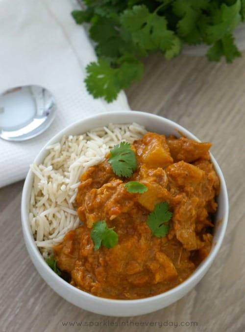 Gluten Free Slow Cooker Chicken Tikka Masala - the easy way!