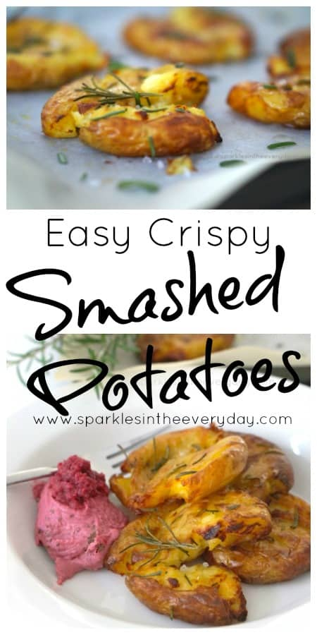 Easy Crispy Smashed Potatoes!! (GF)