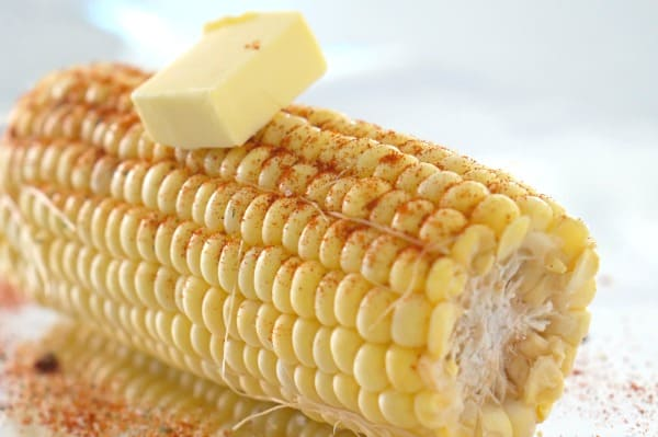 Preparing the best oven-baked corn cob recipe!