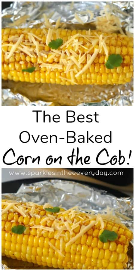 The Best Oven-Baked Corn on the Cob recipe!! (GF)