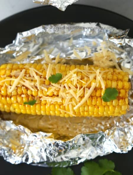 The Best Oven-Baked Corn on the Cob! (GF)