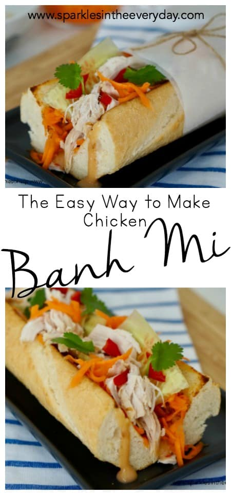 The Easy Way to Make Chicken Banh Mi!