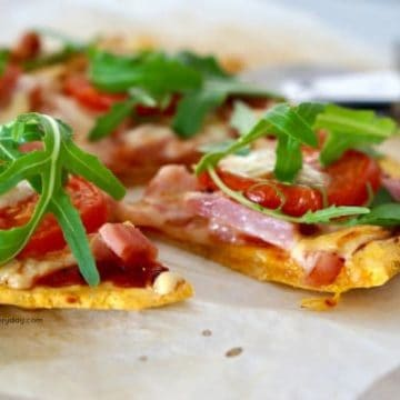 Gluten-Free Sweet Potato Pizza Base