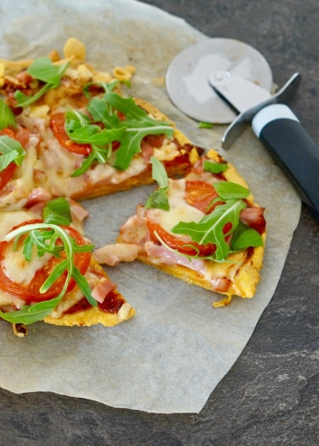 Gluten-Free Sweet Potato Pizza Base Recipe for Gluten-Free Pizza for One!