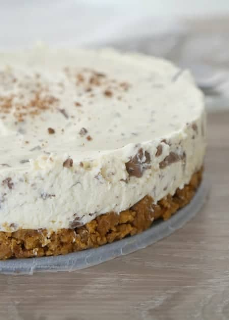 Easy Gluten-Free Toblerone Cheesecake recipe