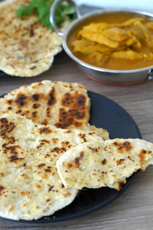 Easy Gluten-Free Naan Bread recipe!